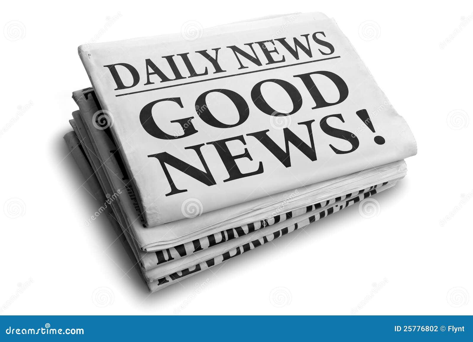 Título do jornal da boa notícia