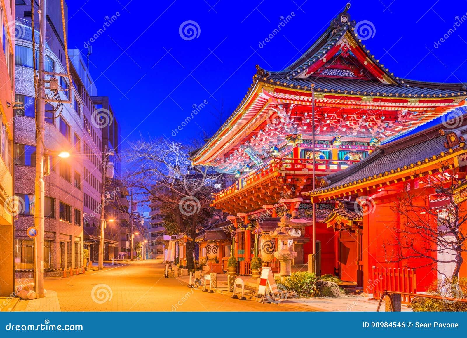 Tóquio do santuário de Kanda