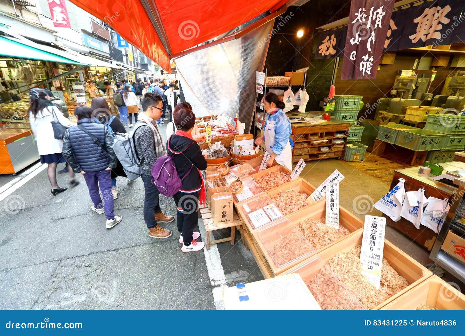 Tóquio: Mercado de peixes de Tsukiji