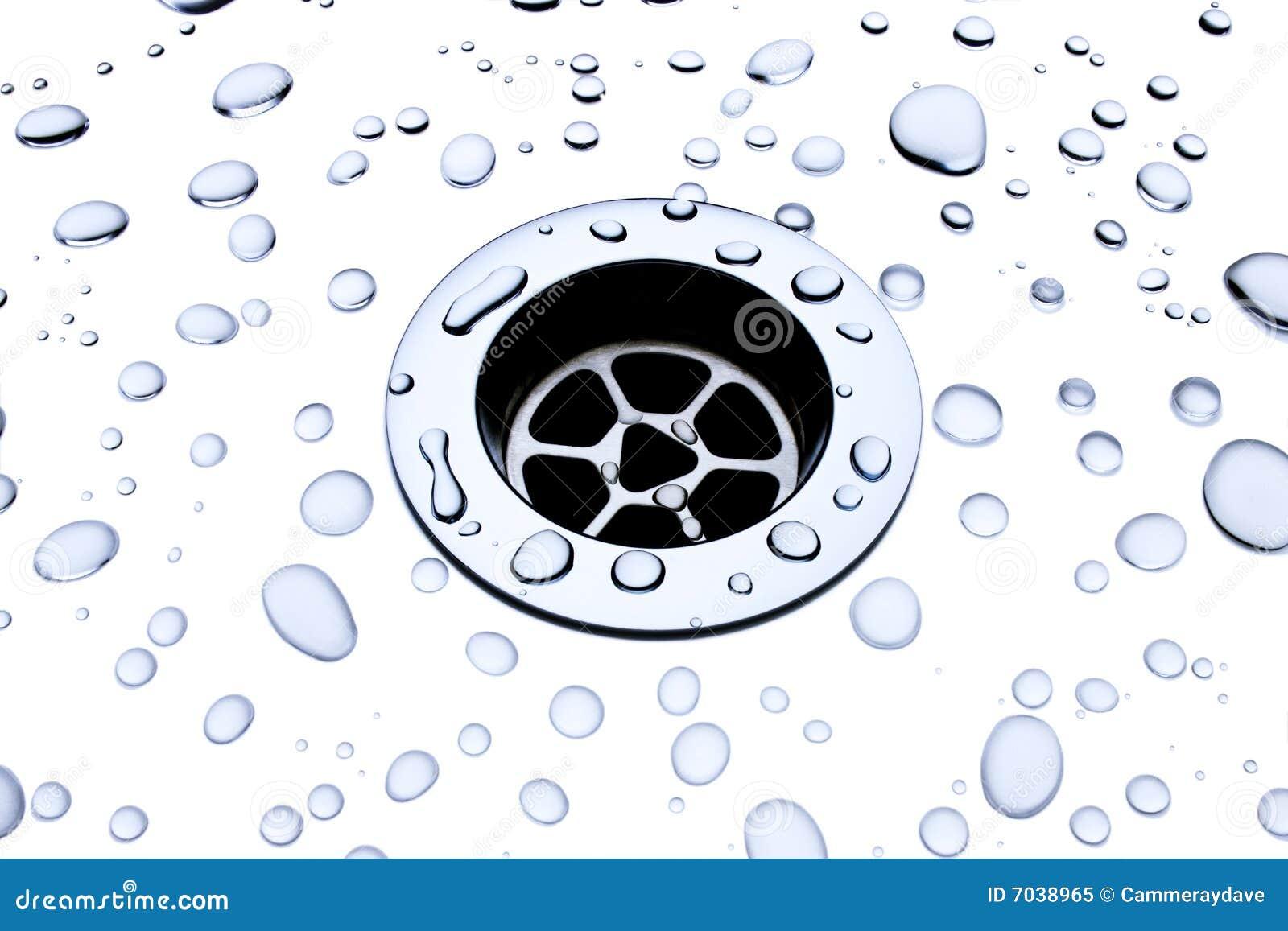 Töm droppvatten