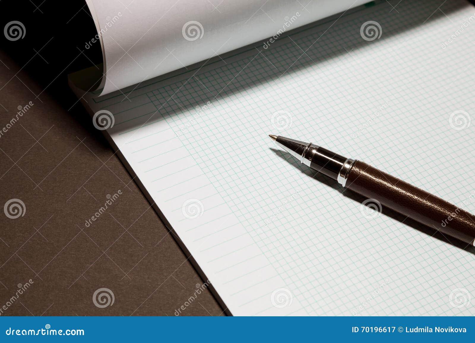 Töm mellanrumet och skriva på arbetsplatsen