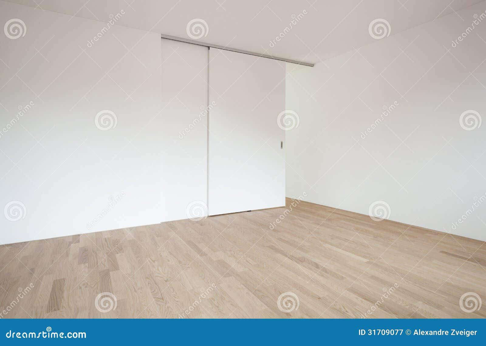 Töm rum med glidningsdörren