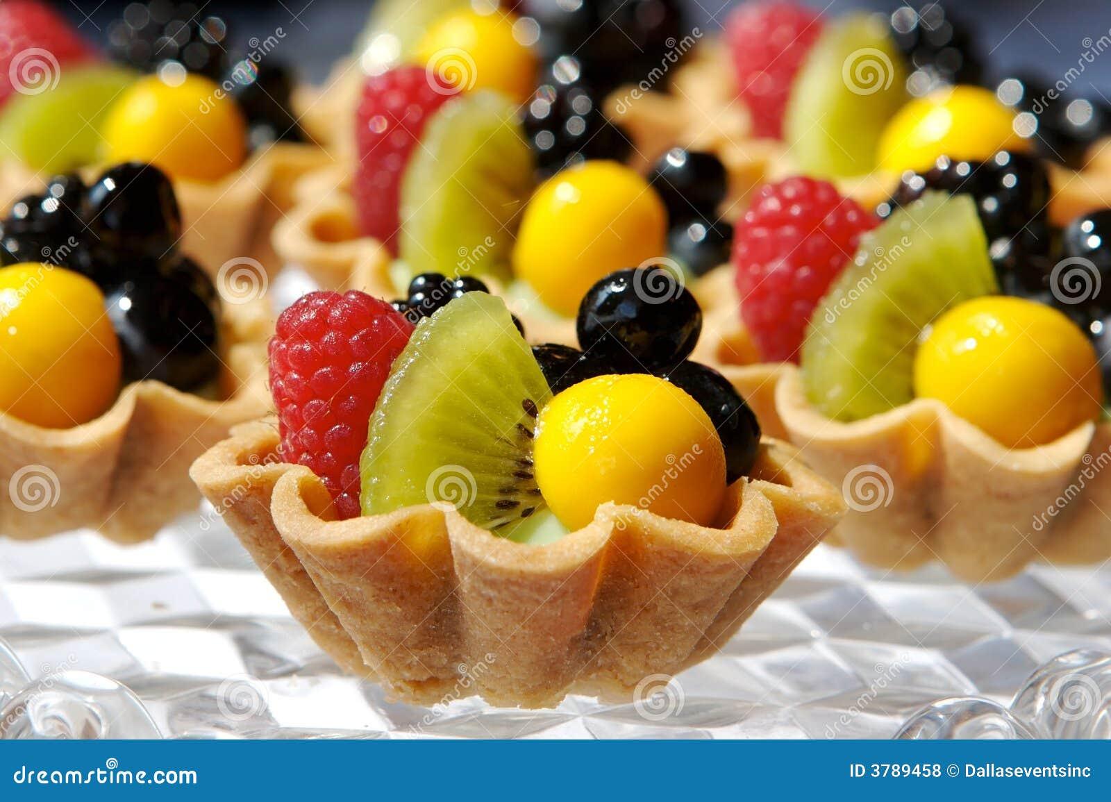 Törtchen der frischen Frucht
