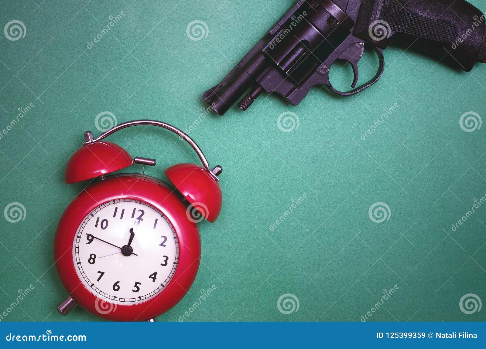 Töten Sie das Zeitkonzept