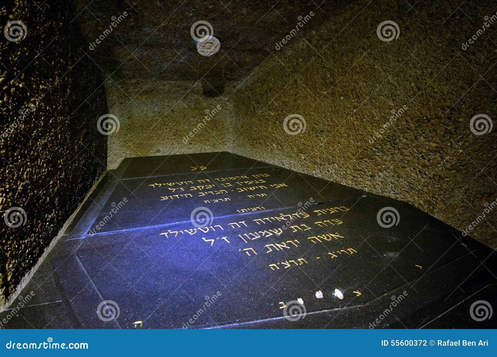 Túmulo da família de Rothschild em Ramat Hanadiv em Zikhron Yaakov Israel