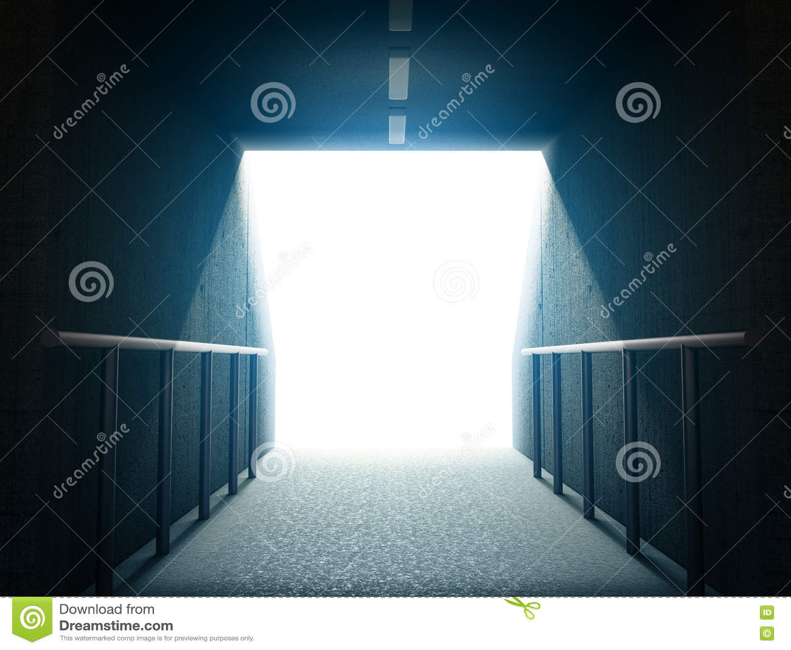 Túnel 3d de la arena