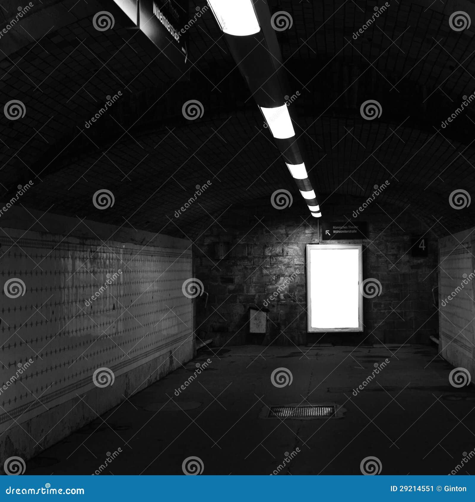 Túnel da estação de comboio