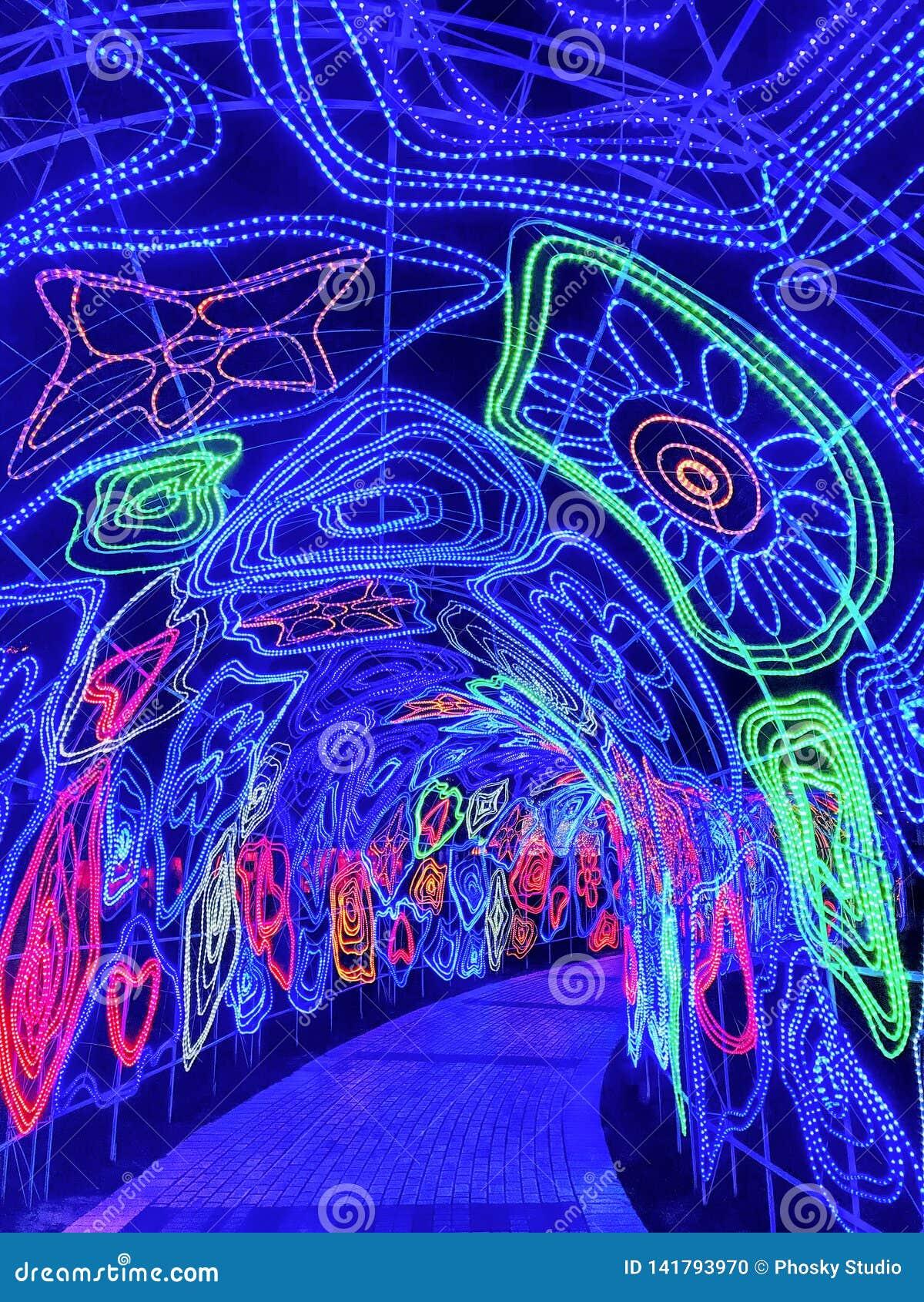 Túnel das luzes