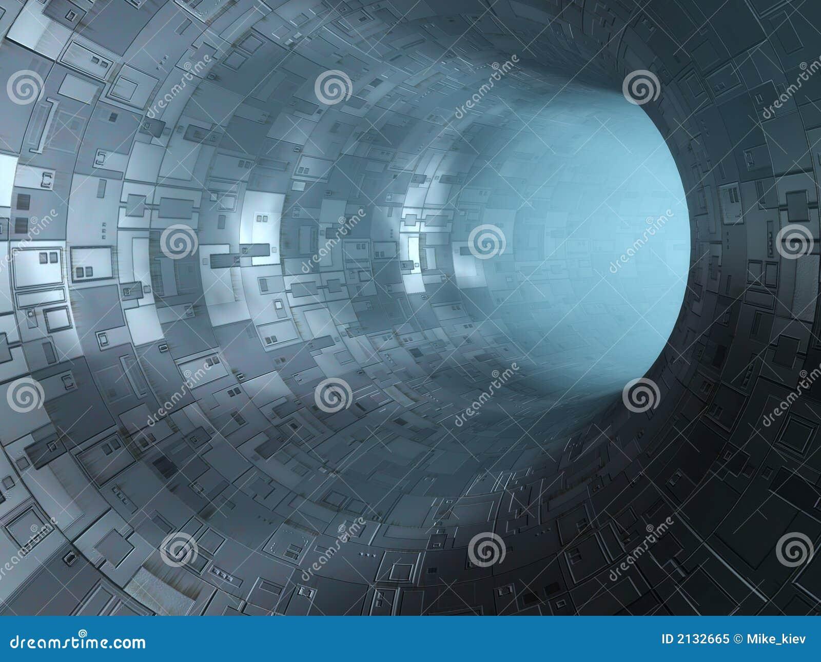 Túnel de alta tecnología