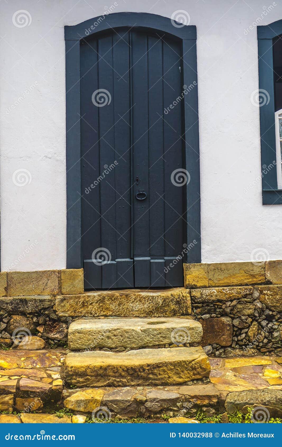 Tür in Tiradentes - Minas Gerais - Brasilien