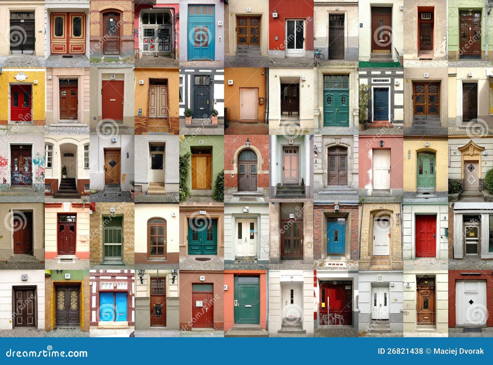 Türen berlin  Türen - Berlin, Deutschland Lizenzfreie Stockfotos - Bild: 26821438