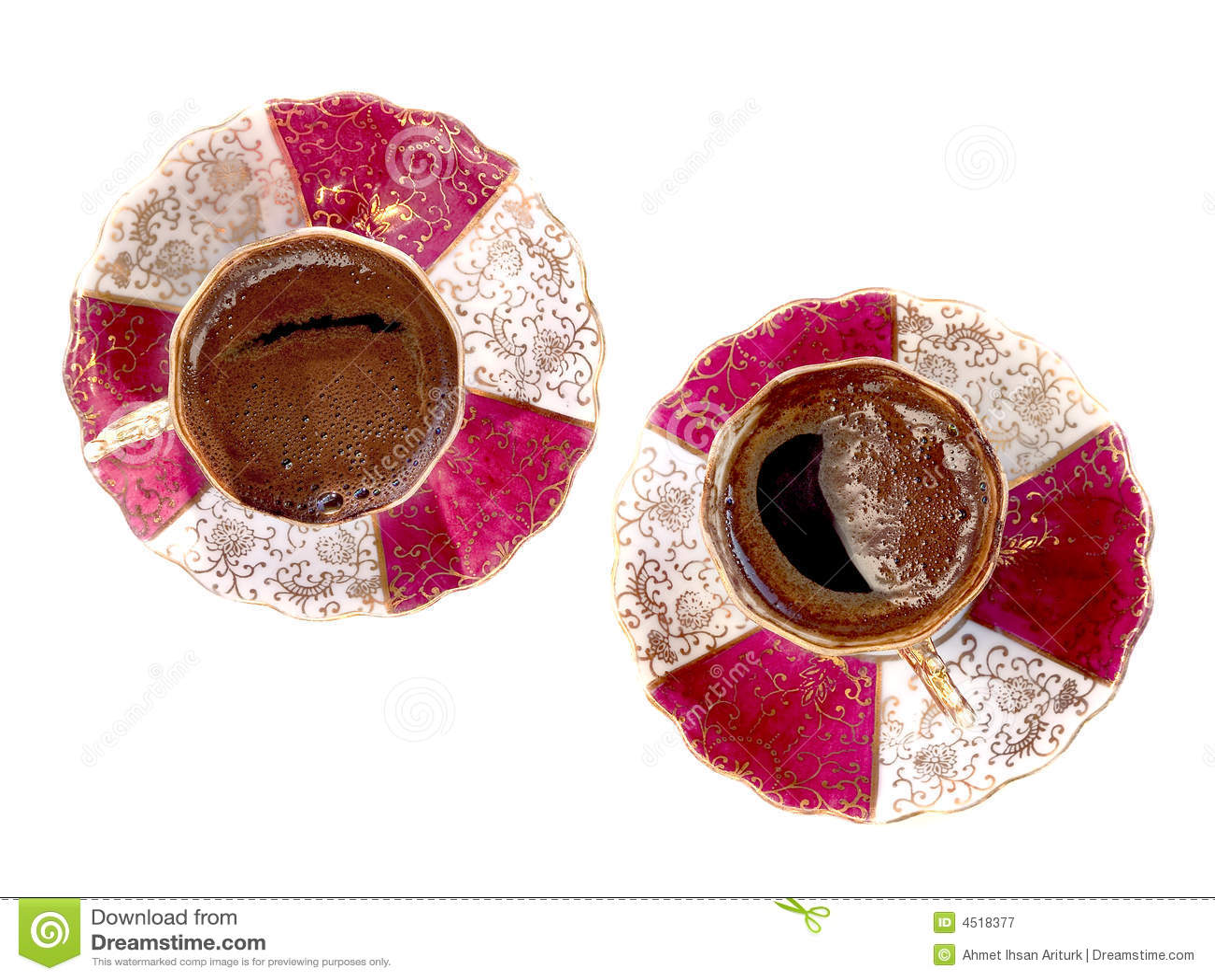 t rkische kaffeetassen lizenzfreie stockfotografie bild 4518377. Black Bedroom Furniture Sets. Home Design Ideas