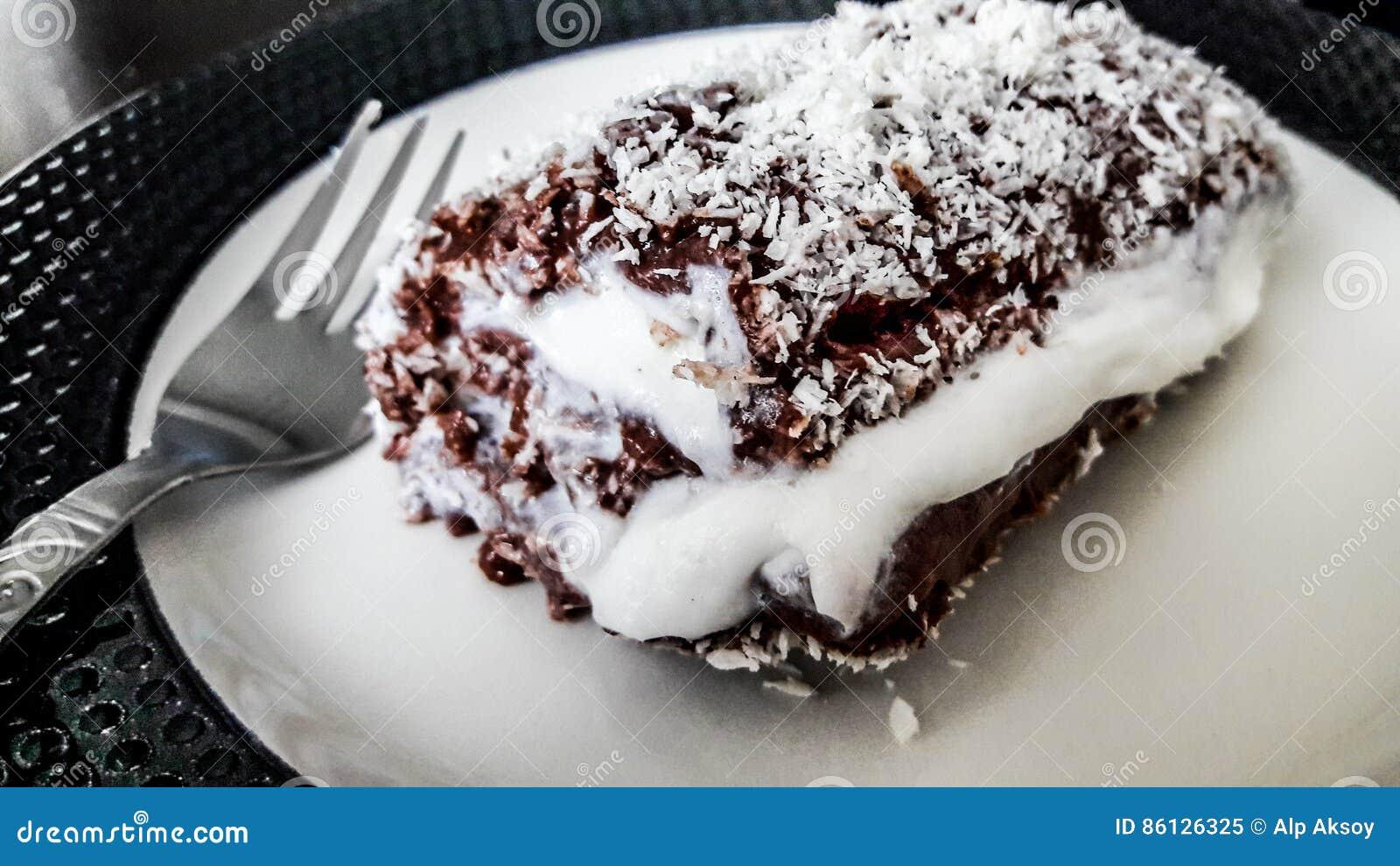 Turkischer Pudding Des Nachtischs Saray Sarma Der Schokolade Mit