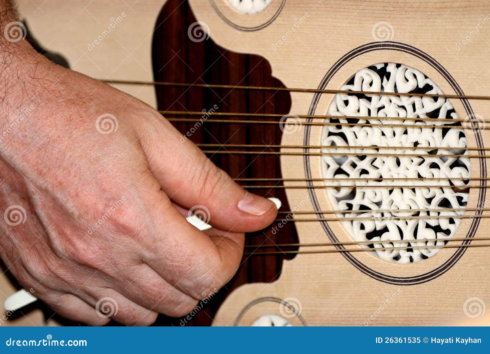 Türkischer und arabischer Instrument-Dichtungskitt