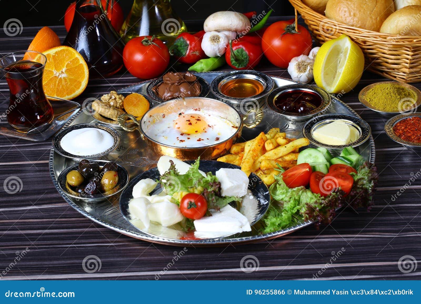 Download Türkisches Frühstück Stockfoto. Bild Von Honig, Bequemlichkeit    96255866