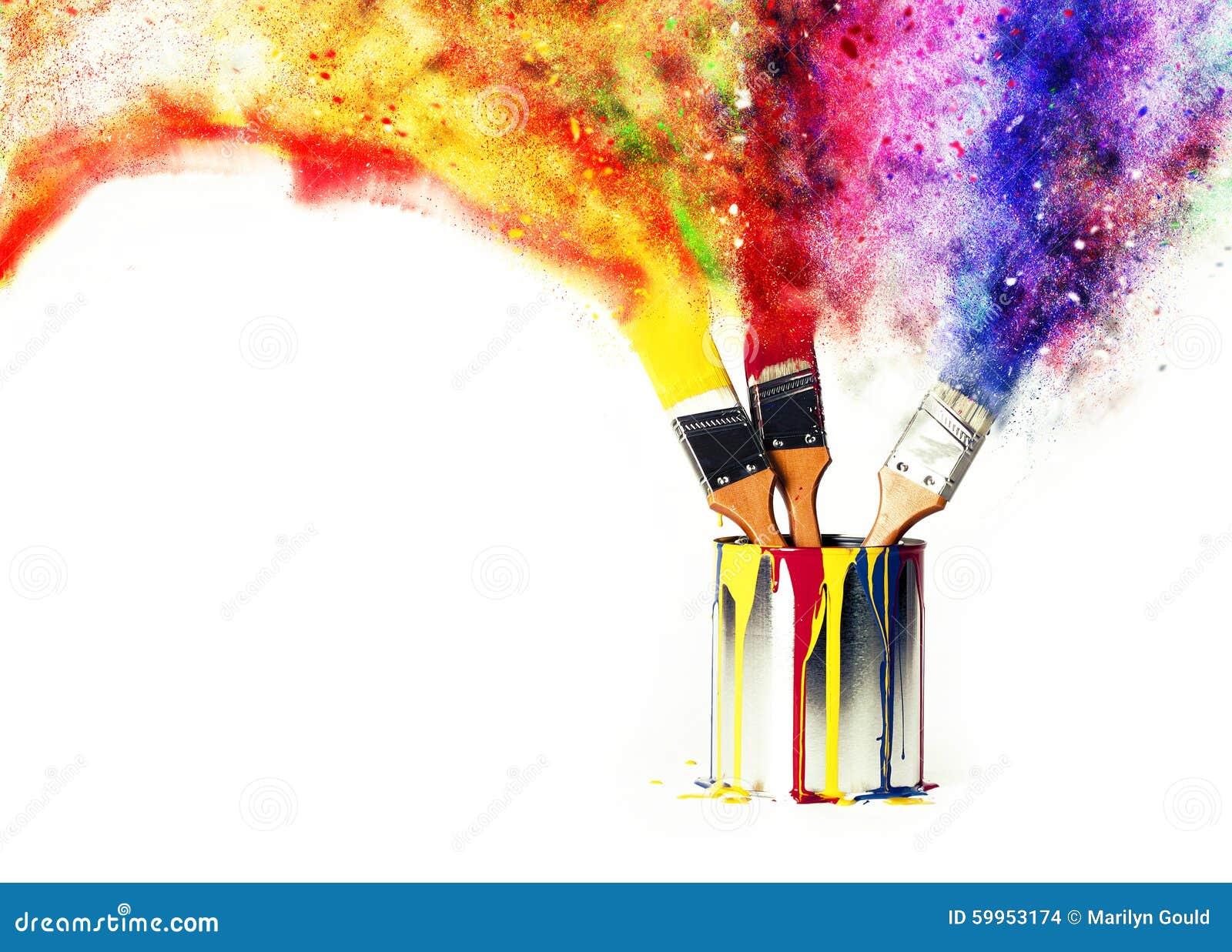 Tęcza kolory od Początkowych kolorów