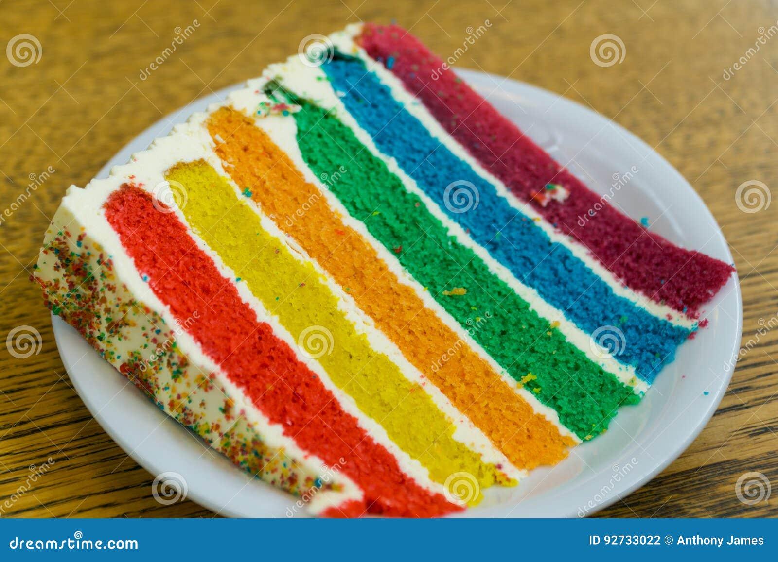 Tęcza tort