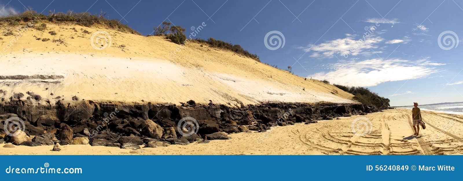 Tęczy plaża, Queensland, Australia