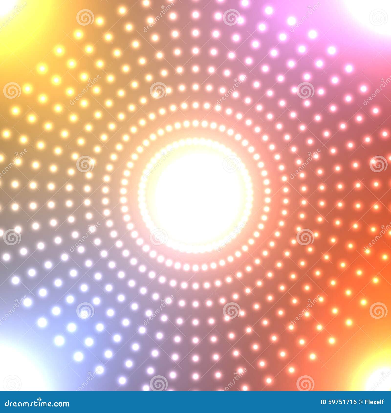 Tła abstrakcjonistyczny neon