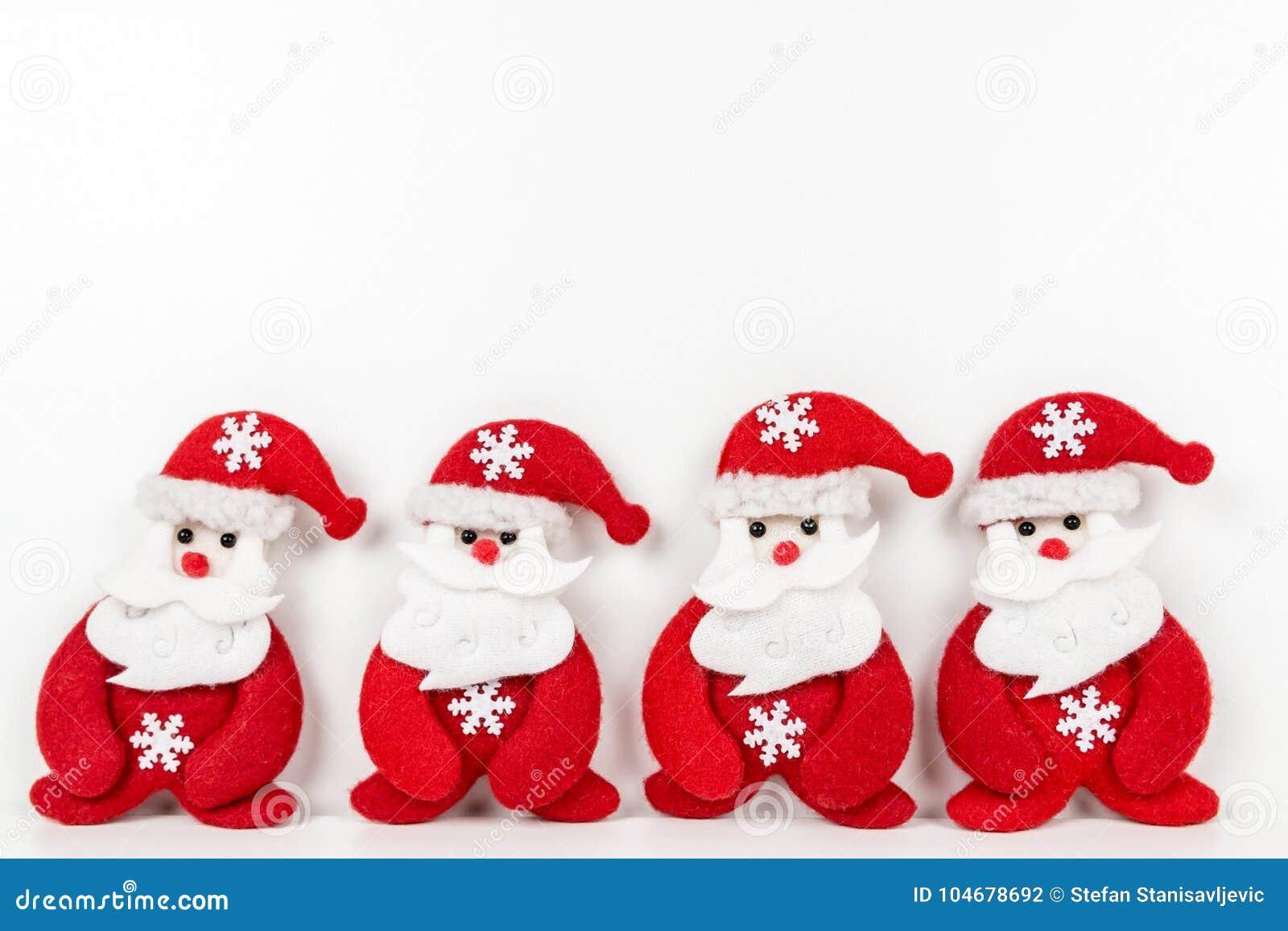 Tła bożych narodzeń Claus dekoracje znajdują więcej mój portfolio Santa biel