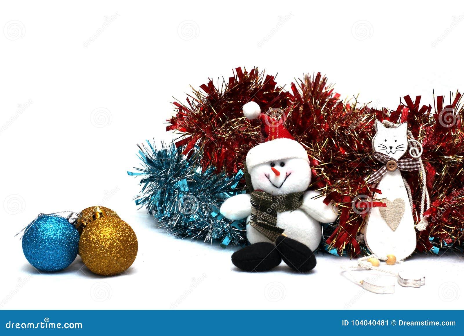 Tła bożych narodzeń dekoracje biały