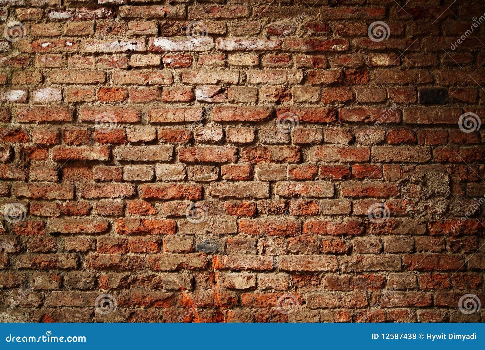 Tła ceglana tekstury ściana