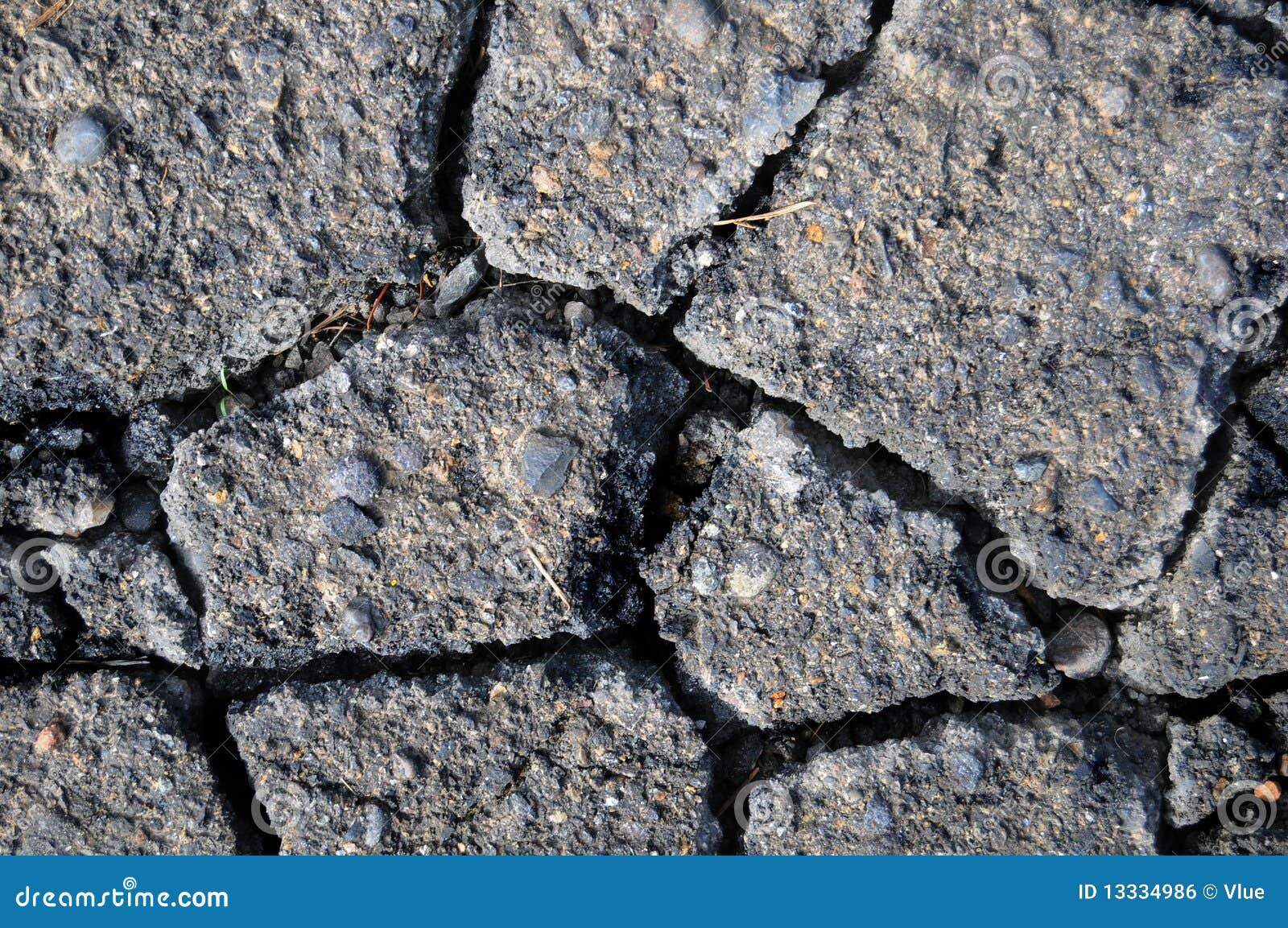Tła cement pękająca tekstura