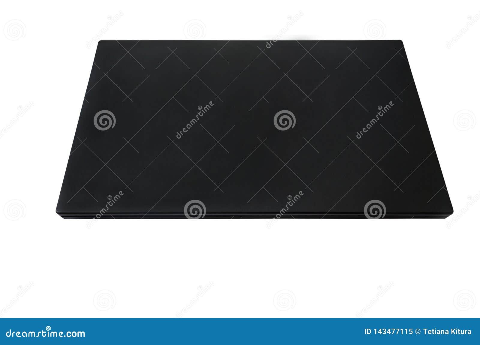 Tła czarny komputerowy ilustracyjny laptopu biel