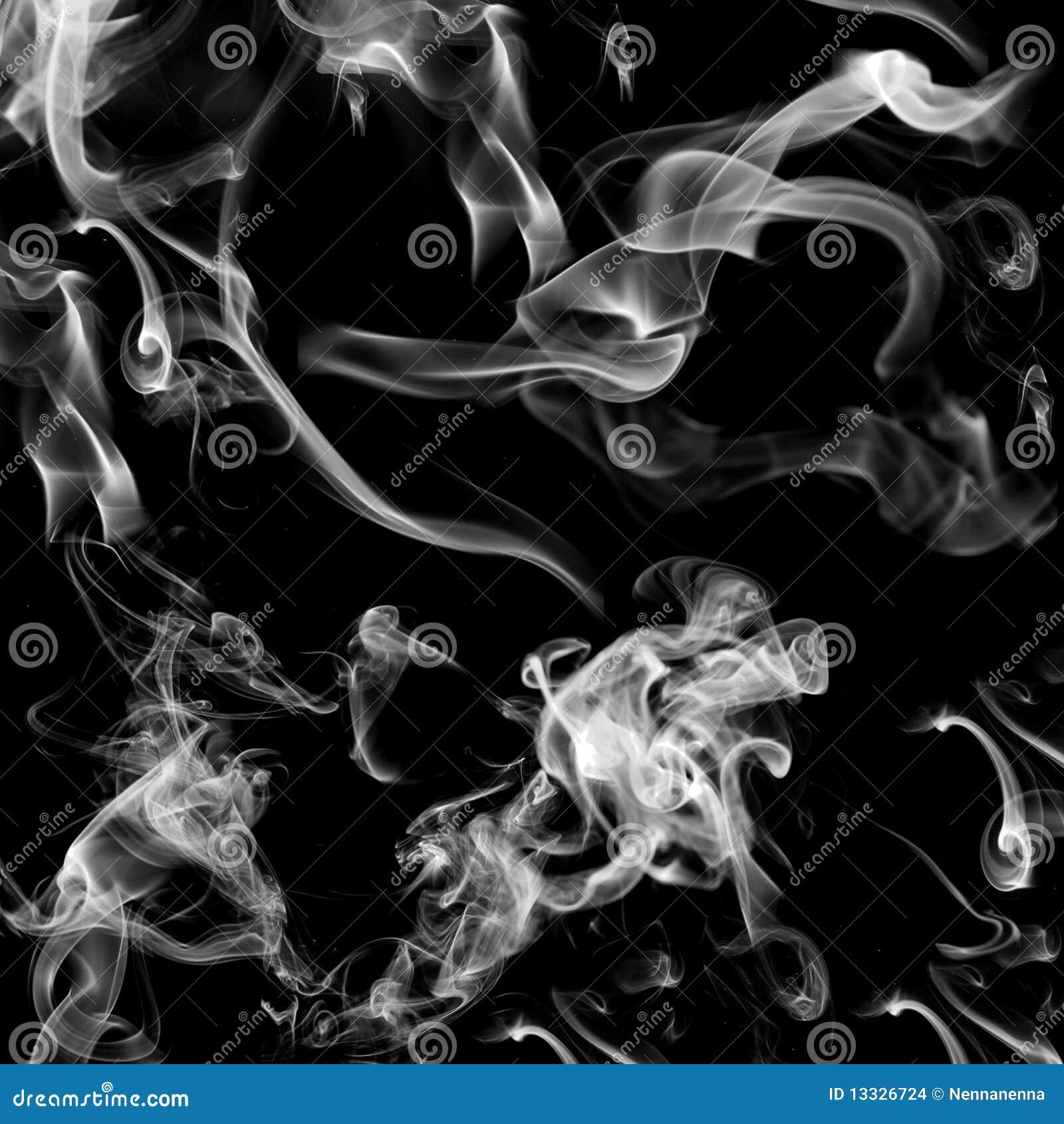 Tła czerń dymu biel