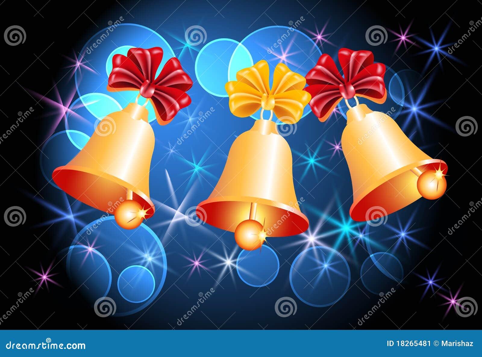 Tła dzwonów boże narodzenia