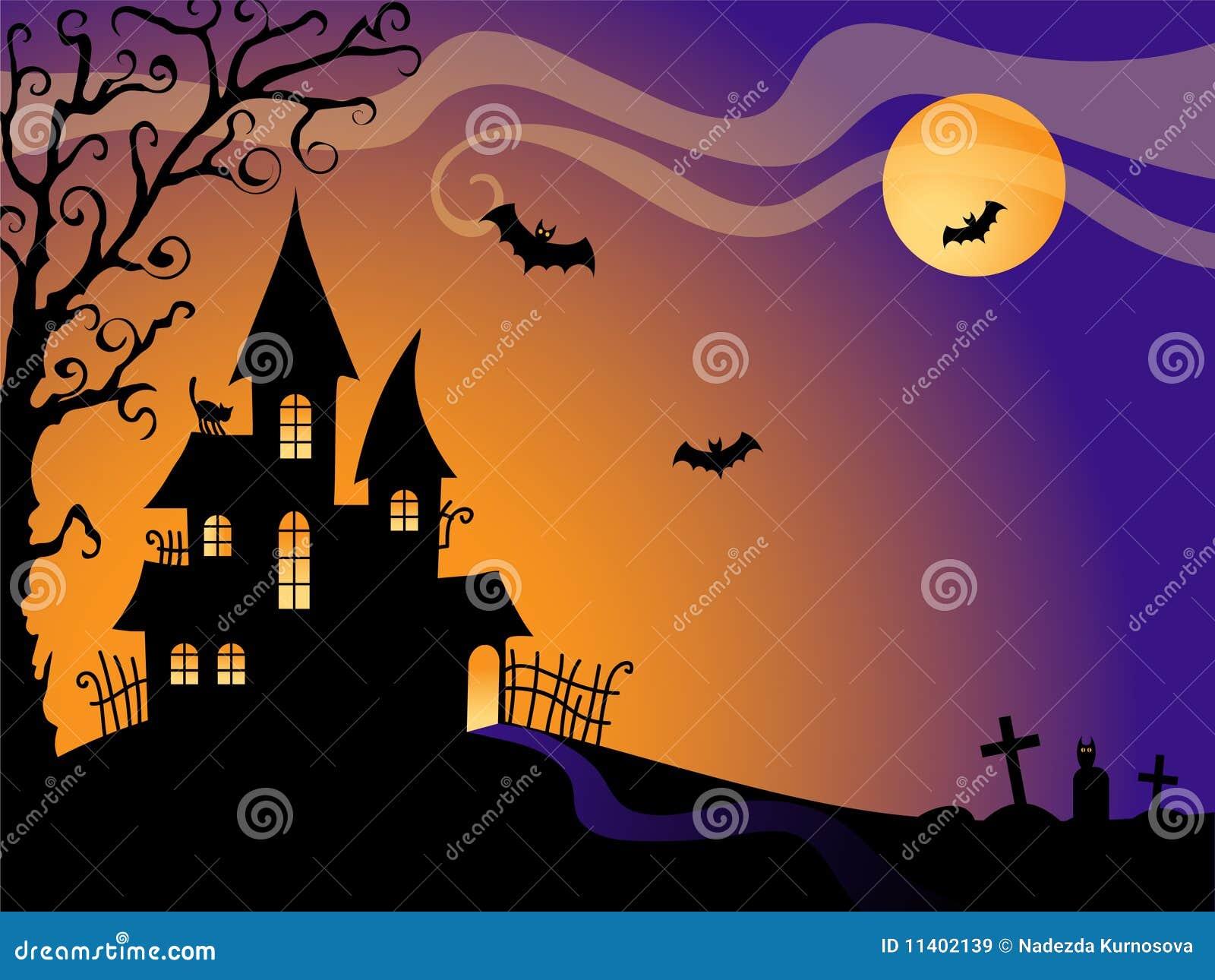Tła Halloween wektor
