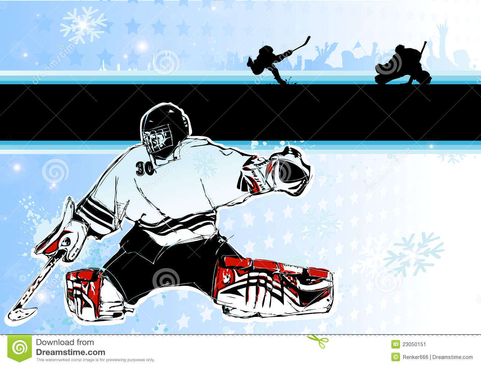 Tła hokeja lód