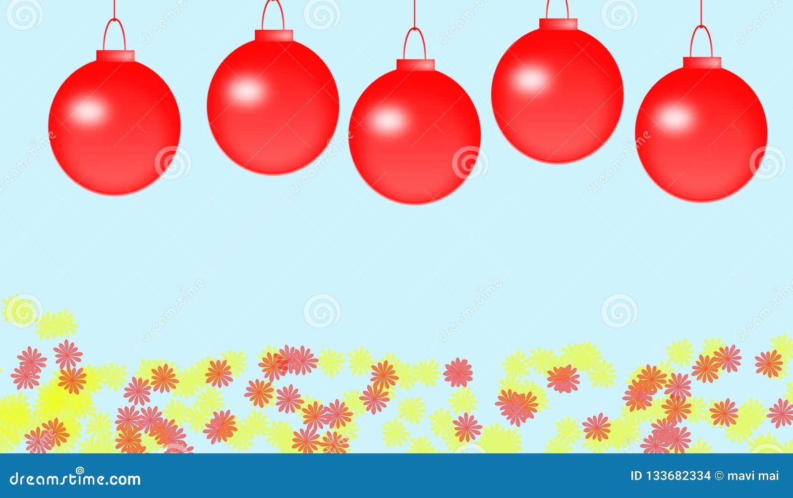 Tła karcianych bożych narodzeń dekoracyjny ramowy powitanie ornamentuje czerwonego biel
