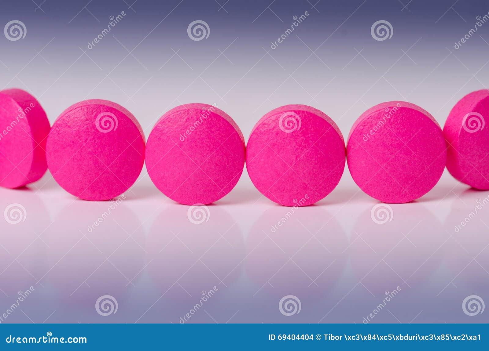 Tła lekarstw medycyny apteki ustaleni narzędzia kolejka różowe pigułki Odbicie lek pharmaceutical