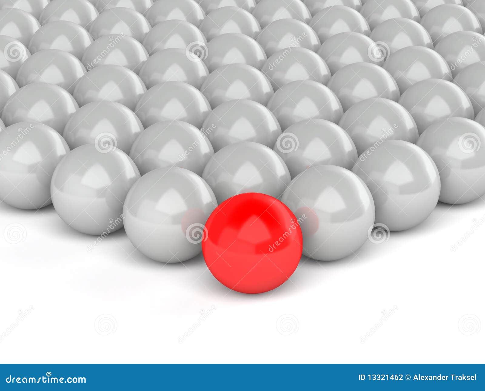 Tła lidera czerwony biel