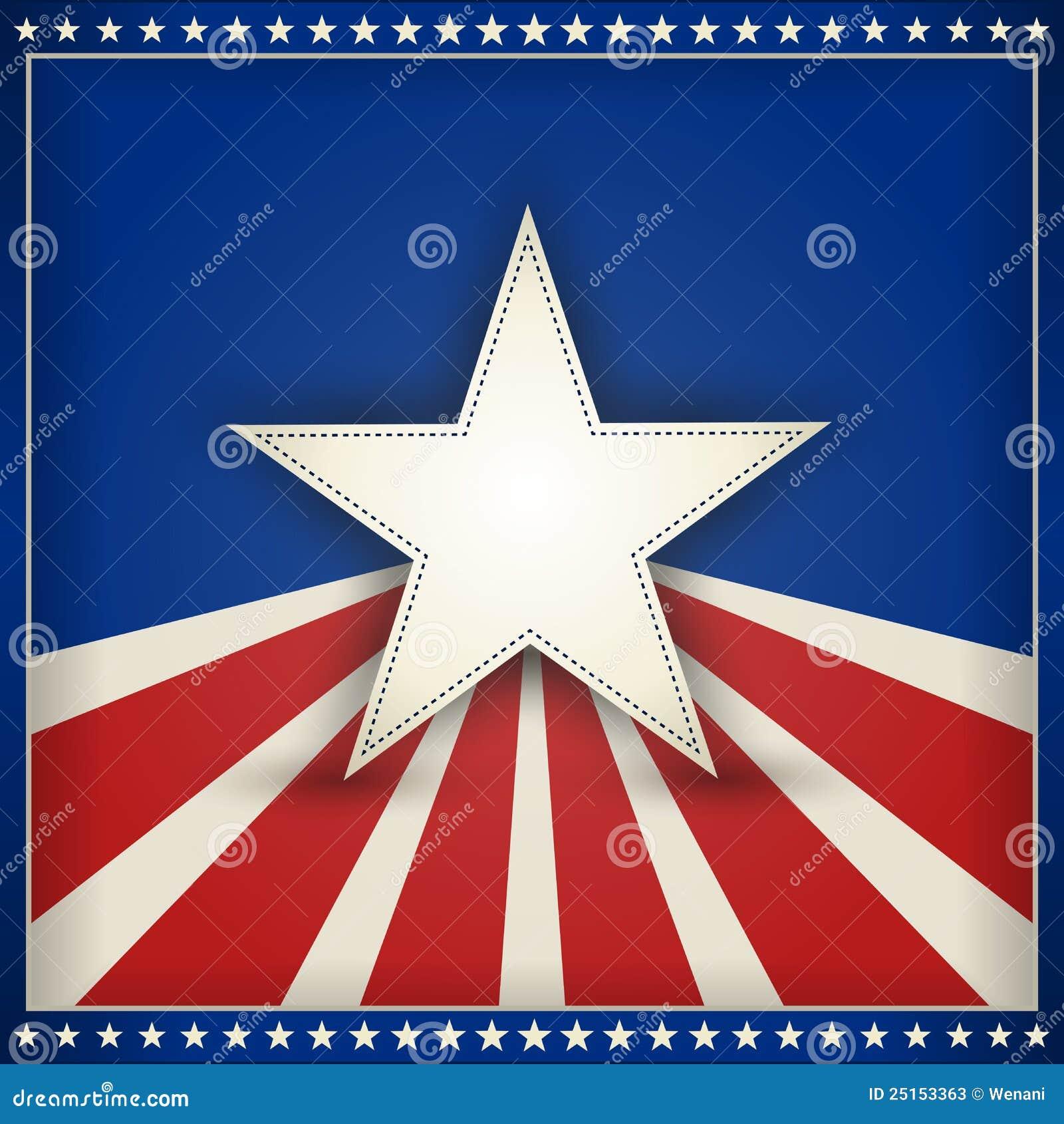 Tła patriotyczni gwiazd lampasy usa