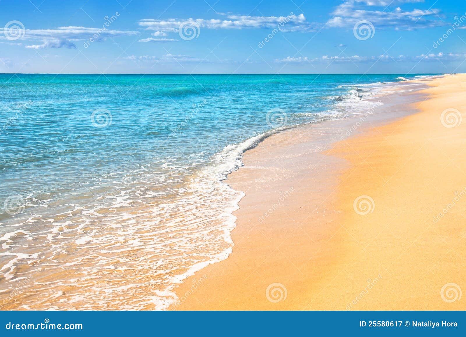 Tła plaży piaska woda