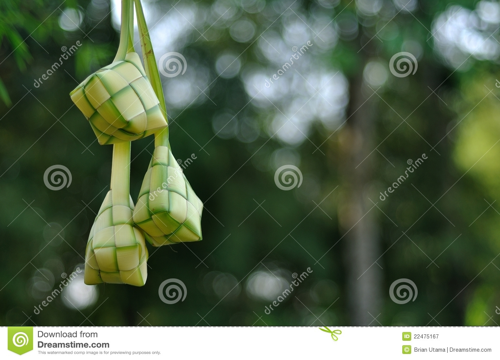 Tła plamy ketupat