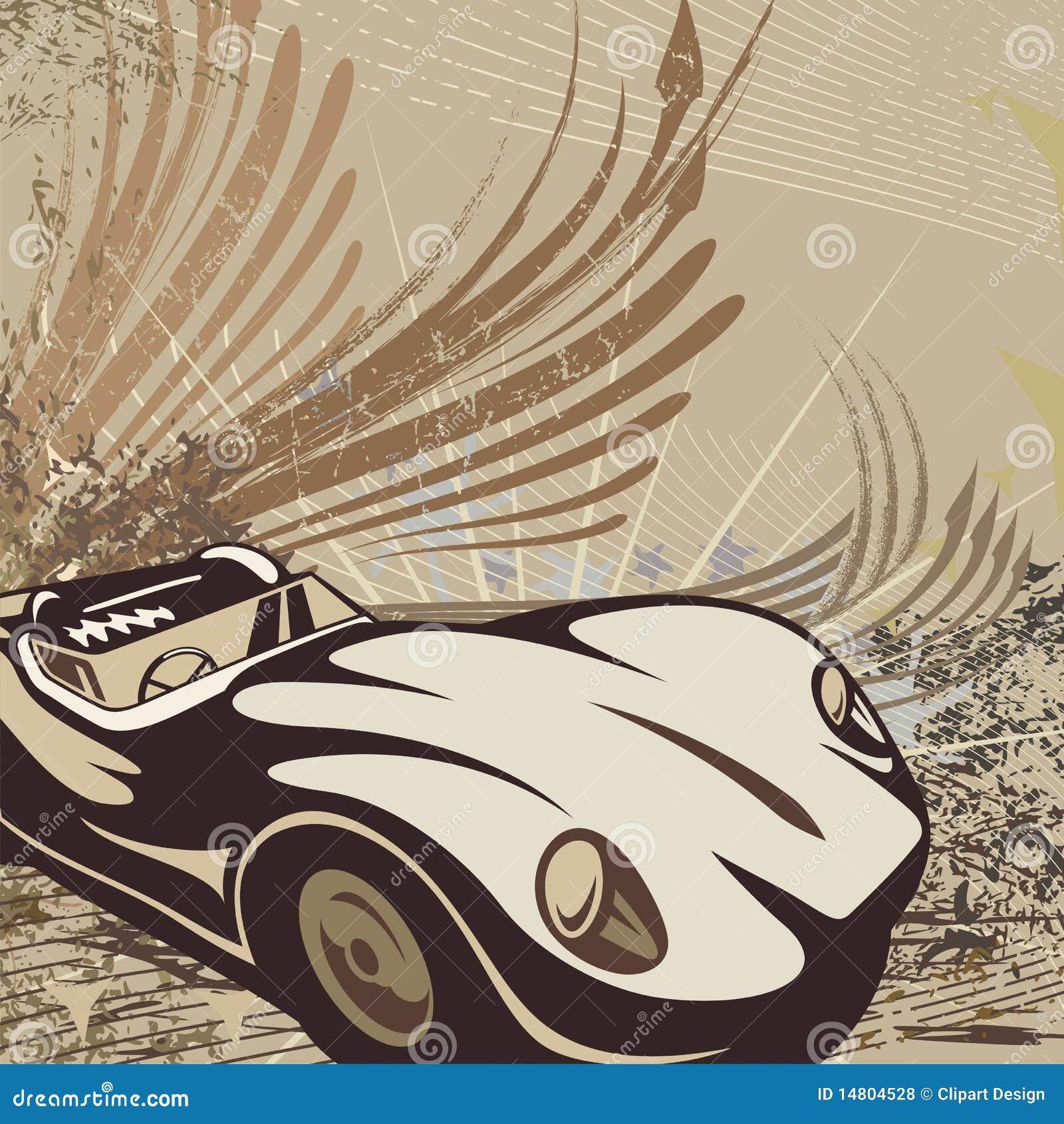 Tła prącie samochodowy gorący