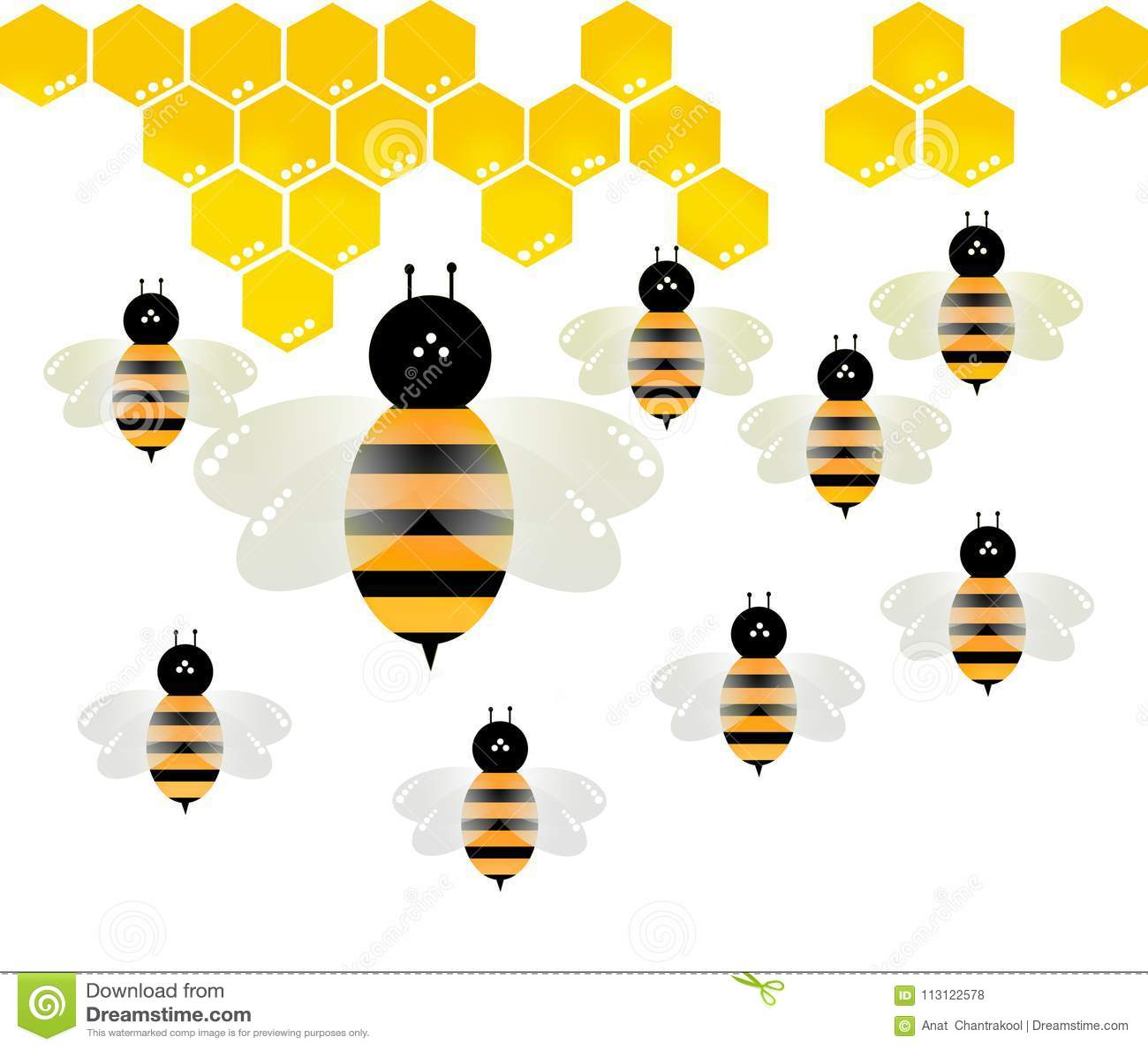 Tła pszczoły makro- strzału biel