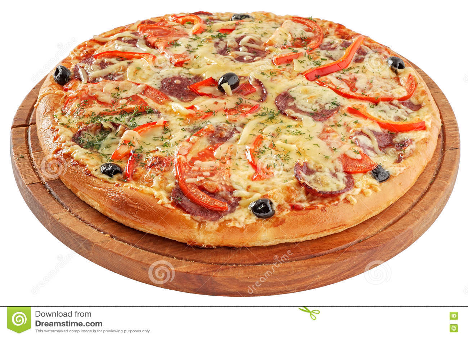 Tła włoski kuchenny pepperoni pizzy biel
