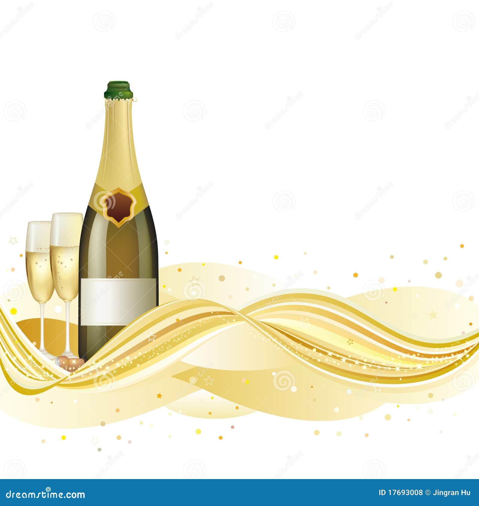 Tło świętuje szampana