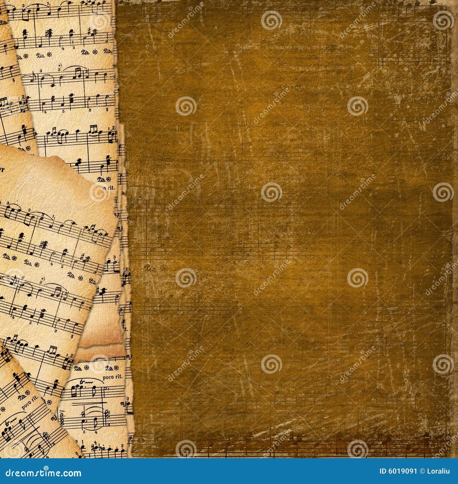Tło abstrakcyjna okładki książki muzyki