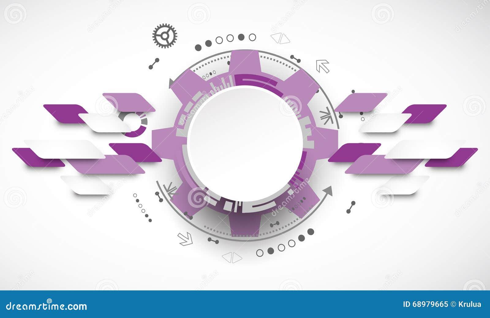 Tło abstrakcyjna technologii Cogwheels temat
