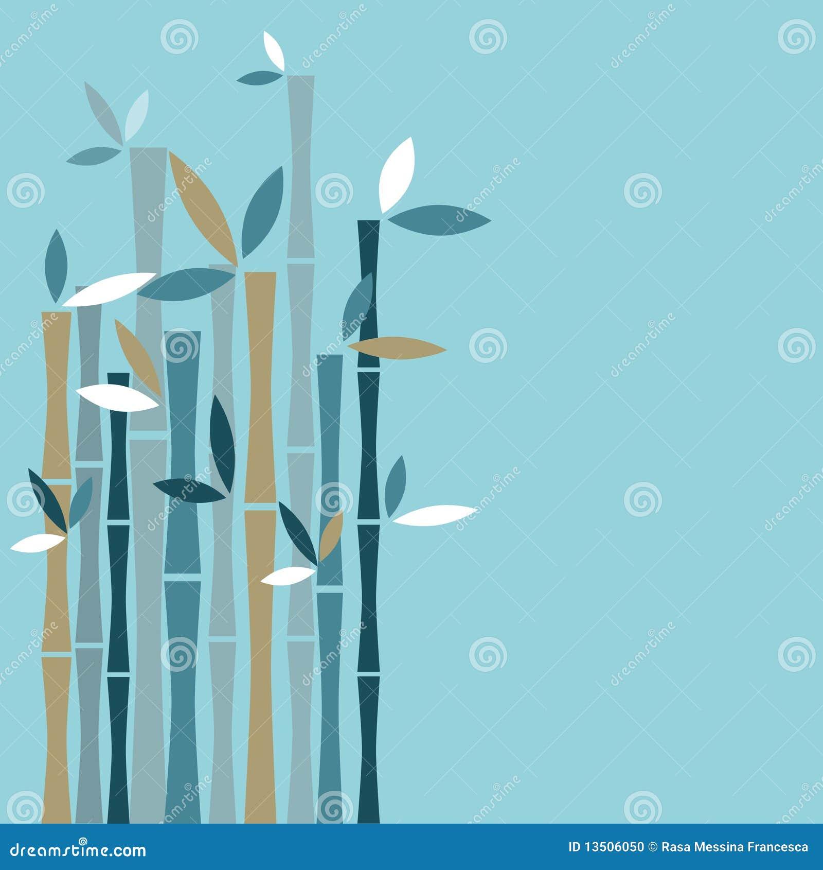 Tło bambus