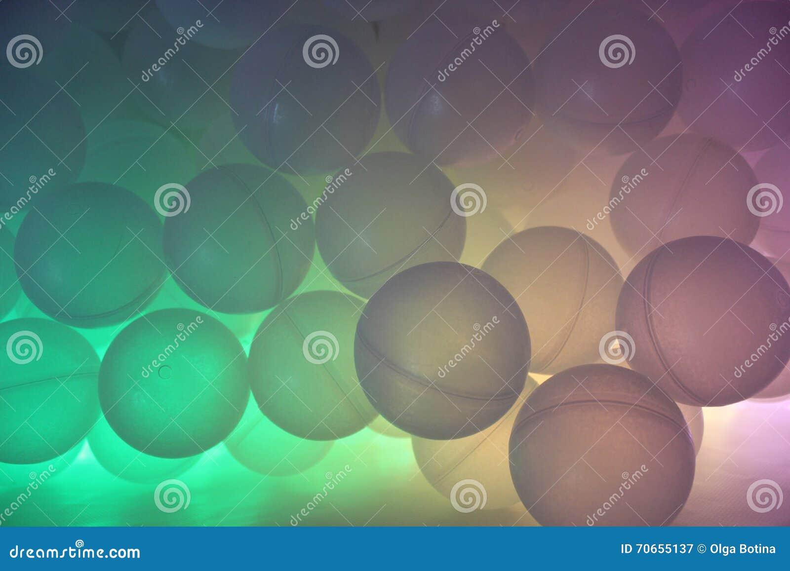 Tło barwione piłki
