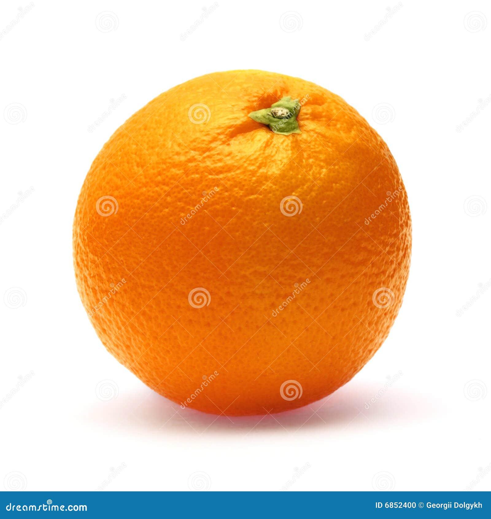 Tło biel odosobniony pomarańczowy