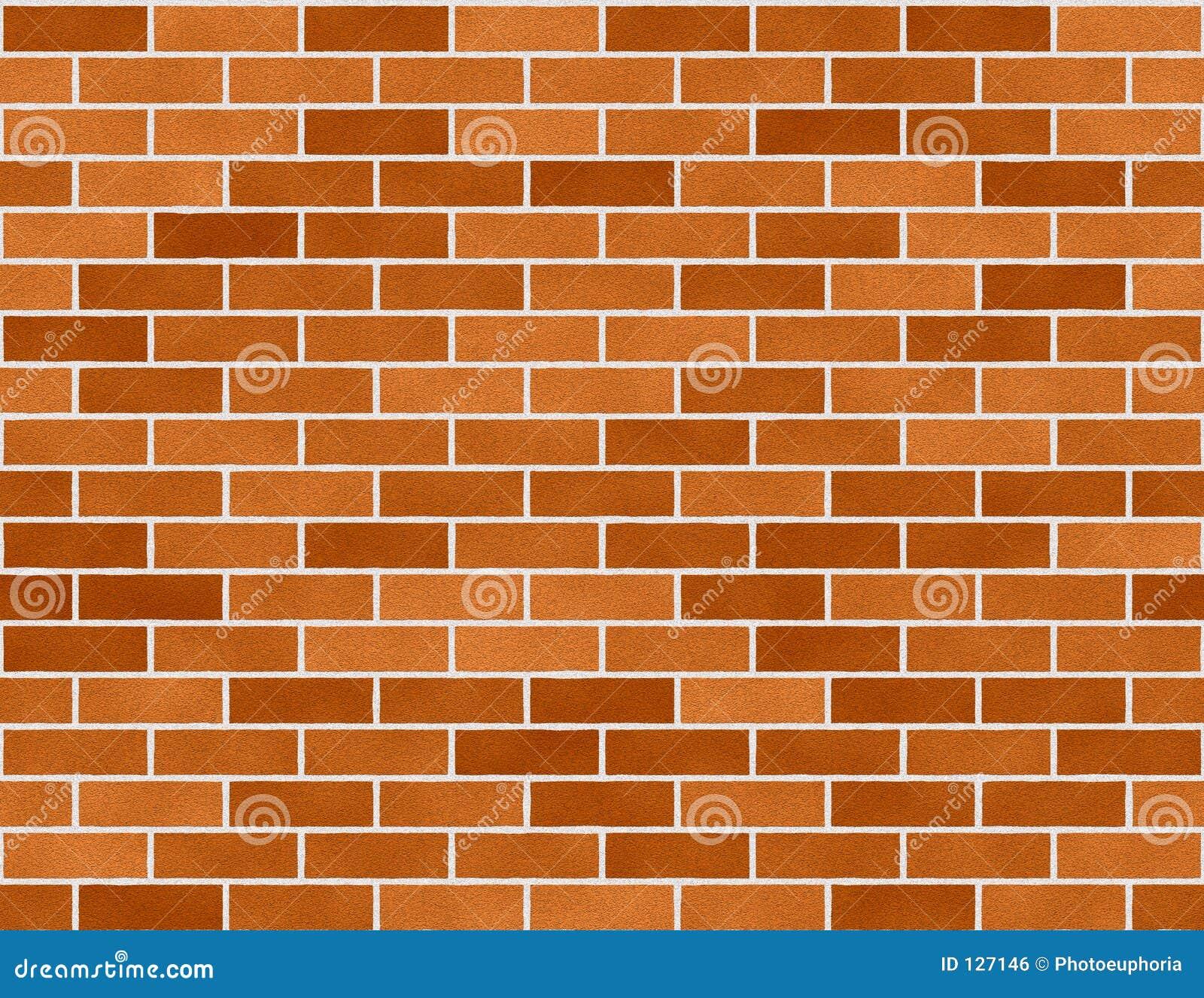 Tło ceglanych cegieł bezszwowa mała ściany