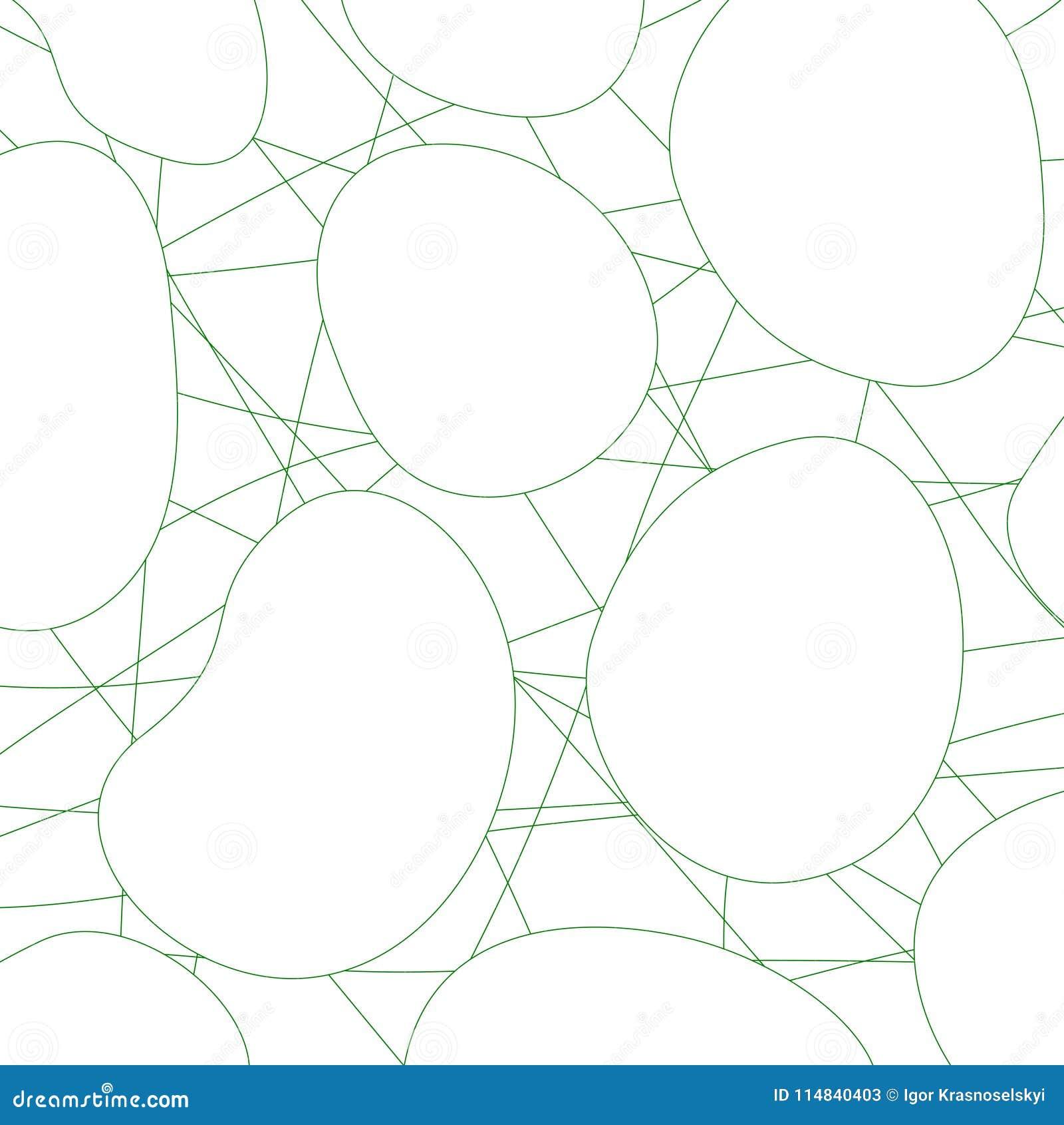 Tło geometrycznego abstrakcyjne Linie i okręgi