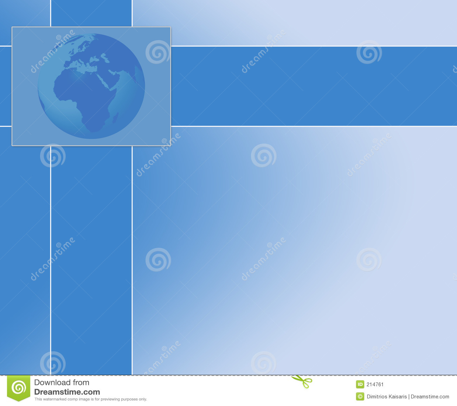 Tło globe prezentacji
